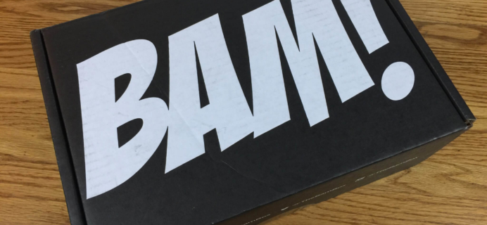 The BAM! Box June 2016 Subscription Box Review & Coupon