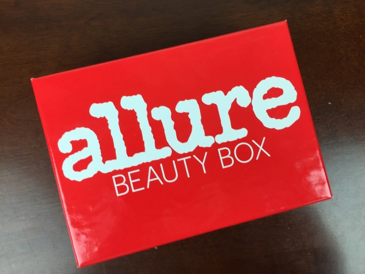 Allure Beauty Box April 2016 box
