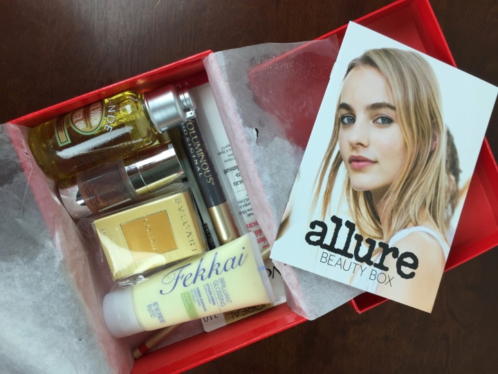 Allure Beauty Box April 2016 review
