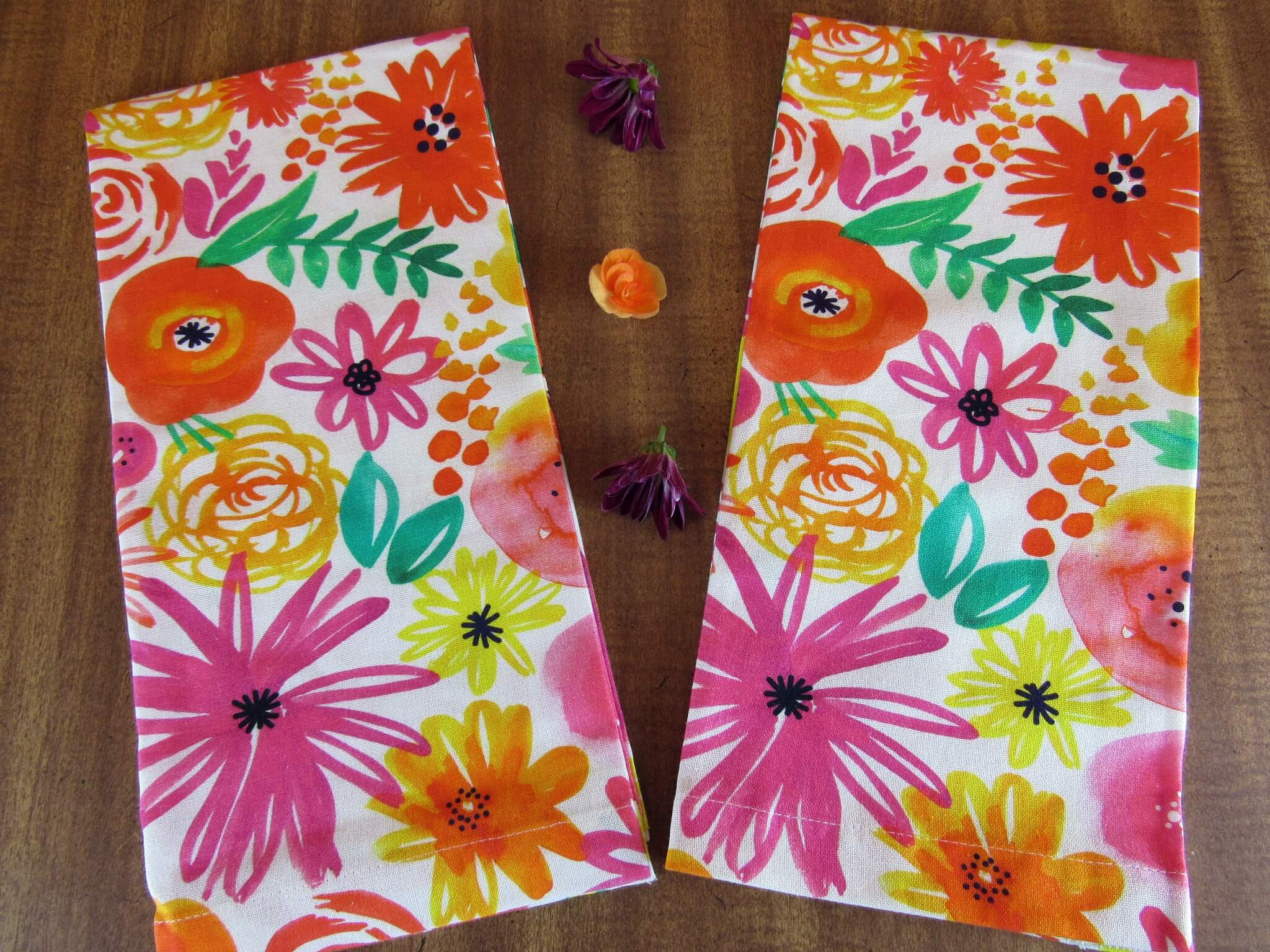 Papersource Wildflower Teat Towels
