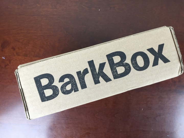 BarkBox April 2016 box