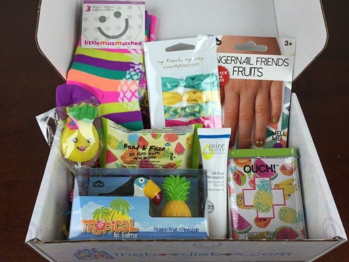 Boodle Box May 2016 review