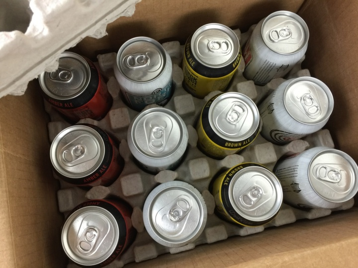 Craft Beer Club Box April 2016 unboxed