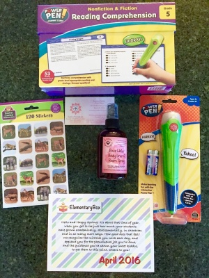 ElementaryBox February 2017 Subscription Box Review & Coupon