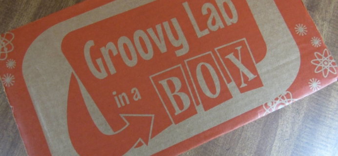 "Groovy Lab in a Box Subscription Box Review & Coupon – ""Keep on Turning"""