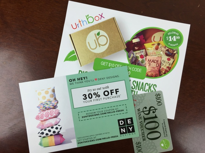 Hello Fresh Box April 2016 (1)