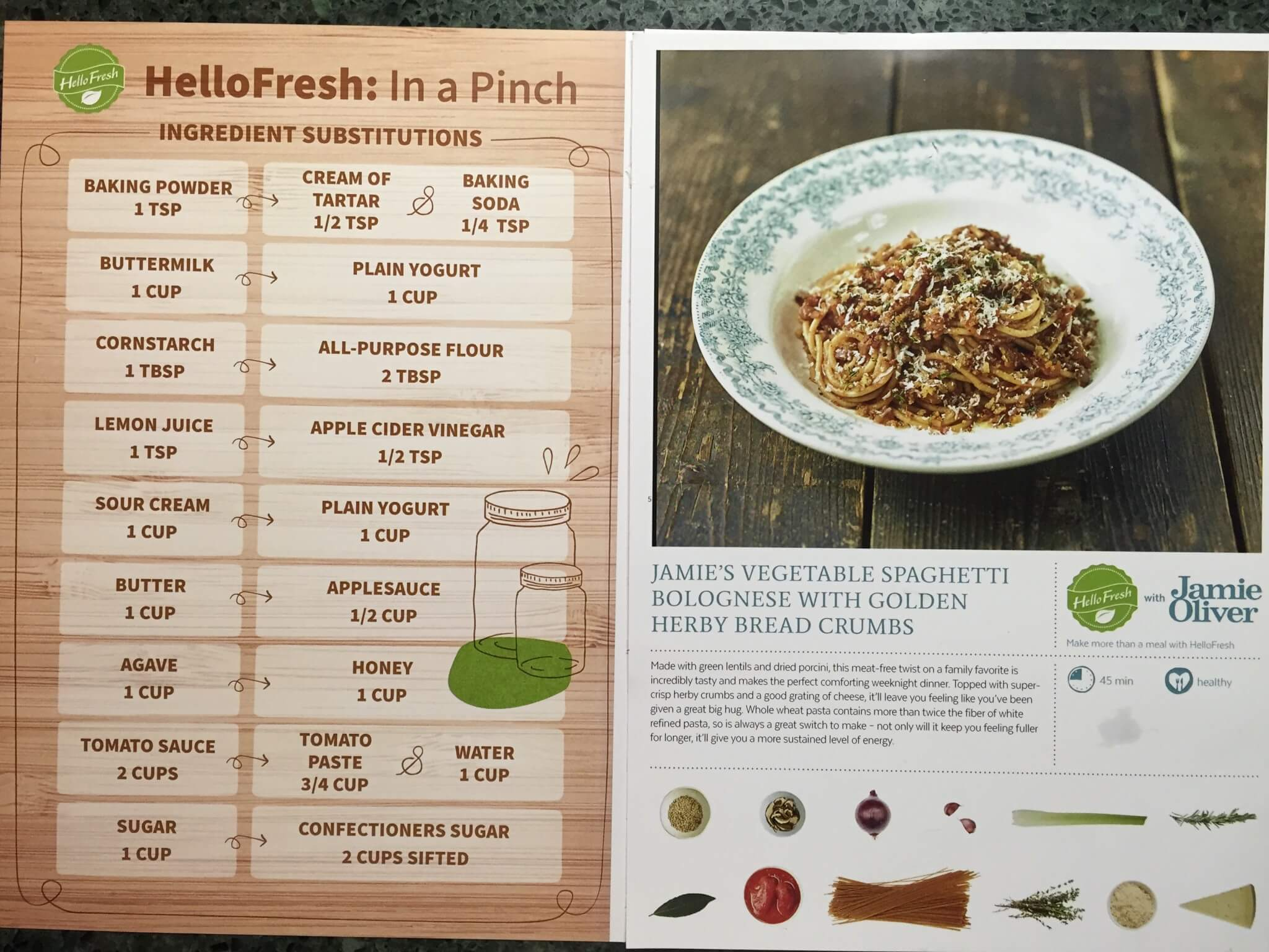Hello Fresh Veggie Box April 2016 (1)