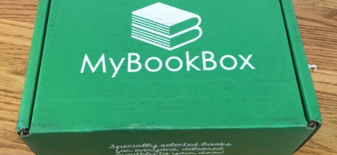 MyBookBox April 2016 Subscription Box Review & Coupon