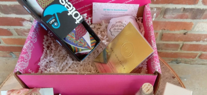 Pampered Mommy April 2016 Subscription Box Review & Coupon