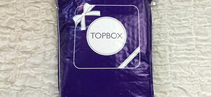 Topbox April 2016 Subscription Box Review