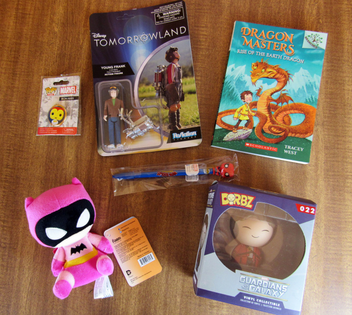 April 2016 Kids Prize Pack