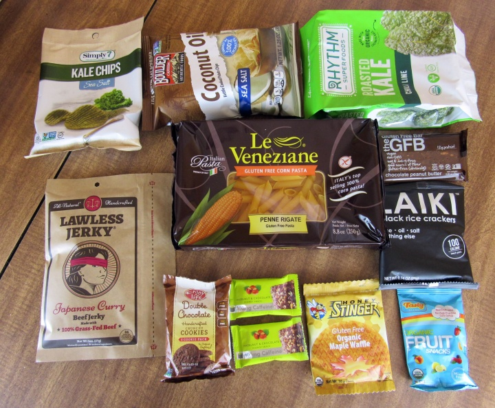 April 2016 Love with Food Gluten-Free Box