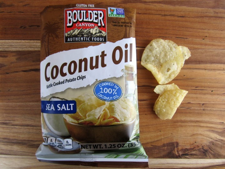 Coconut Oil Kettle Cooked Potato Chips by Boulder Canyon
