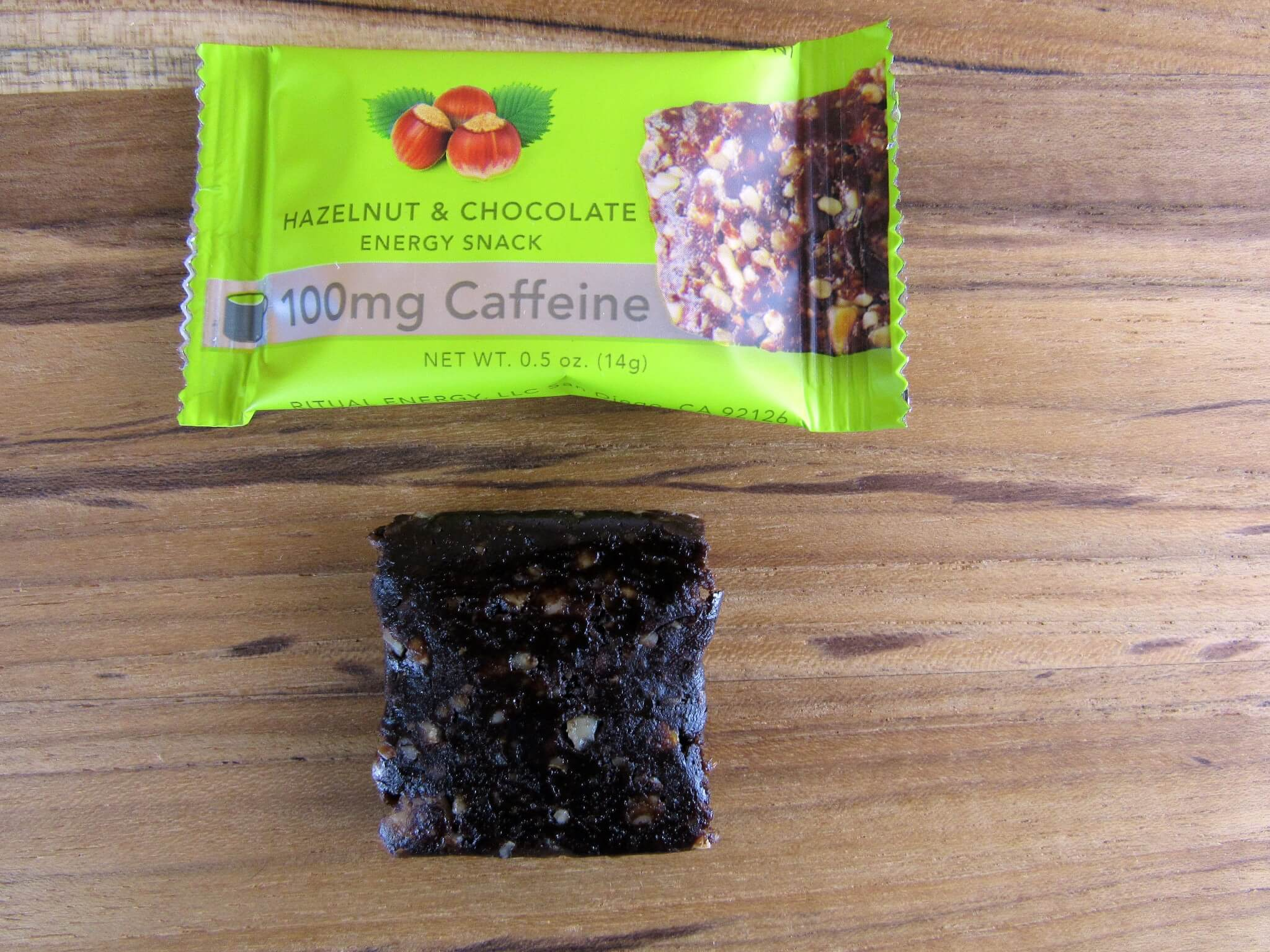 Hazelnut & Chocolate Energy Snack by Ritual Energy