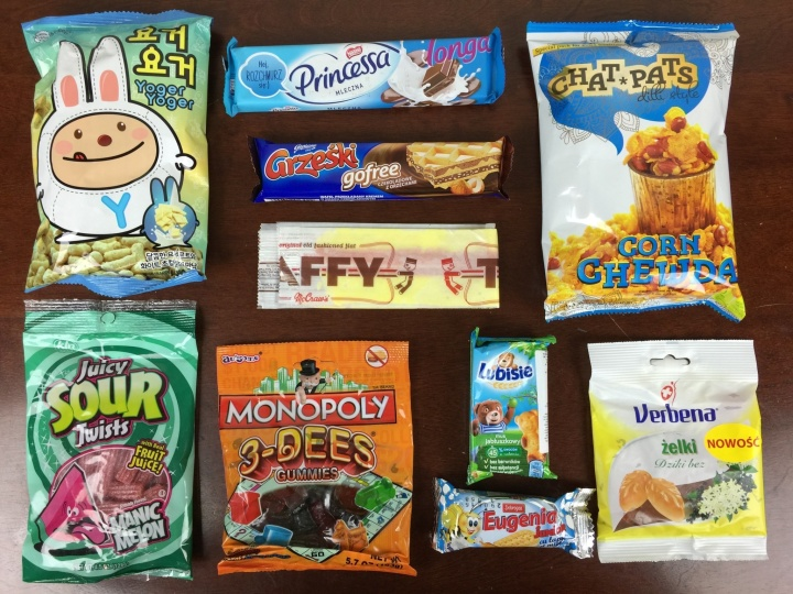 MunchPak Box April 2016 review (2)