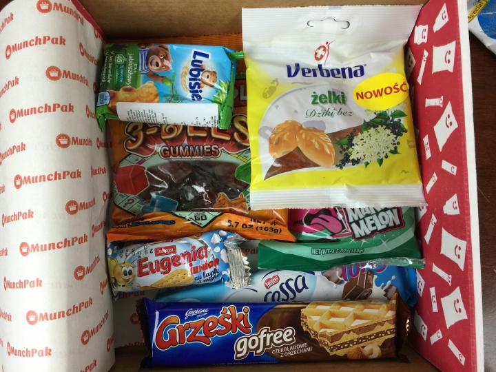 MunchPak Box April 2016 review