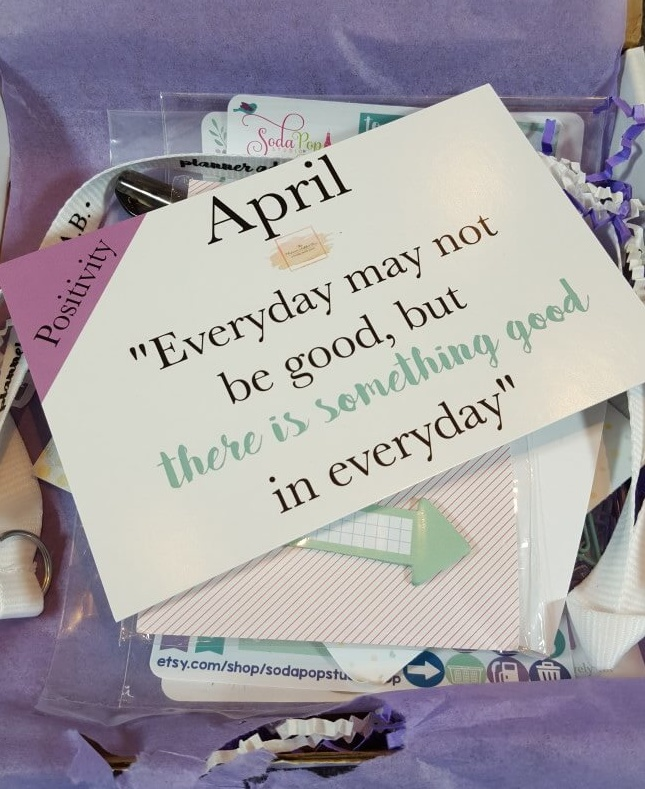 The Planner Addict Box April 2016 Subscription Box Review