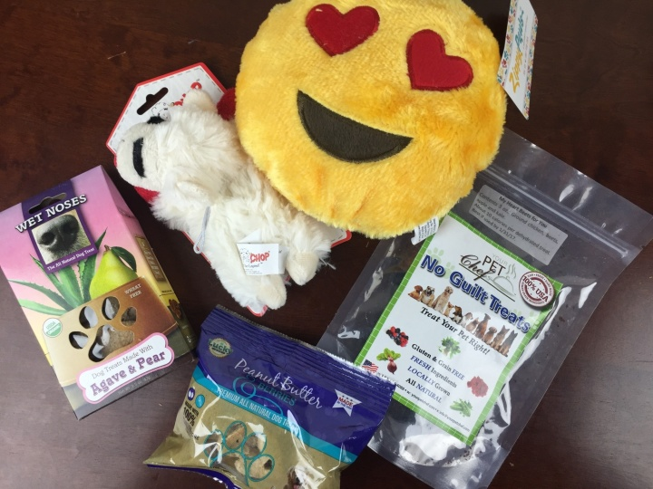 Pooch Perks Box April 2016 review