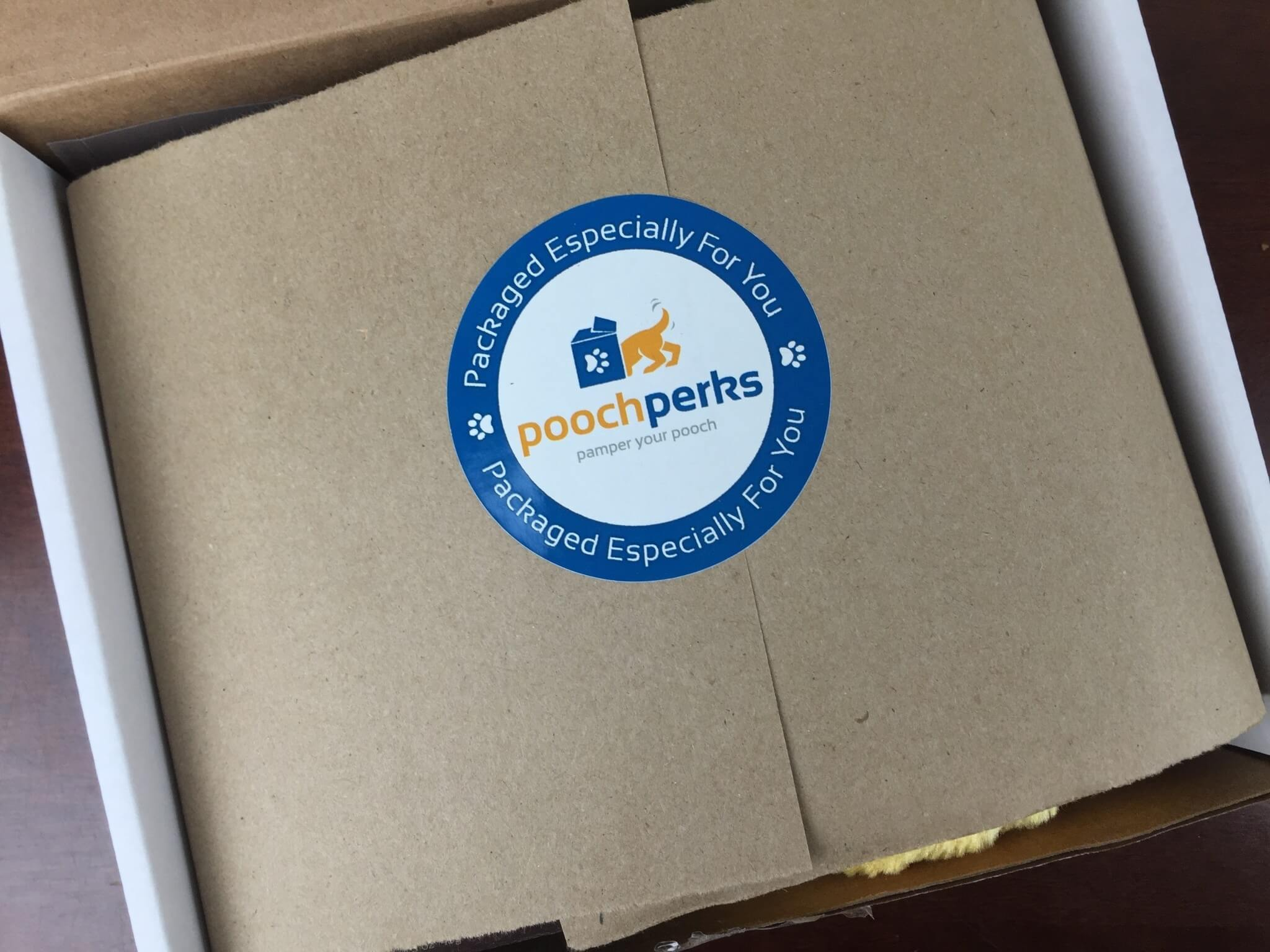 Pooch Perks Box April 2016 unboxing