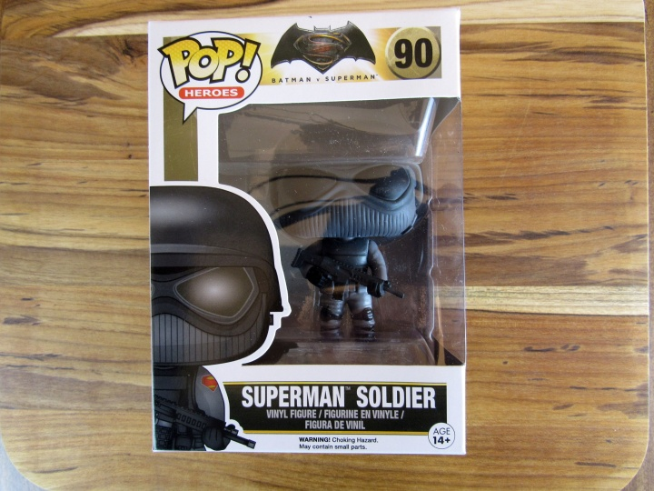 Funko Pop Batman Vs Superman Soldier