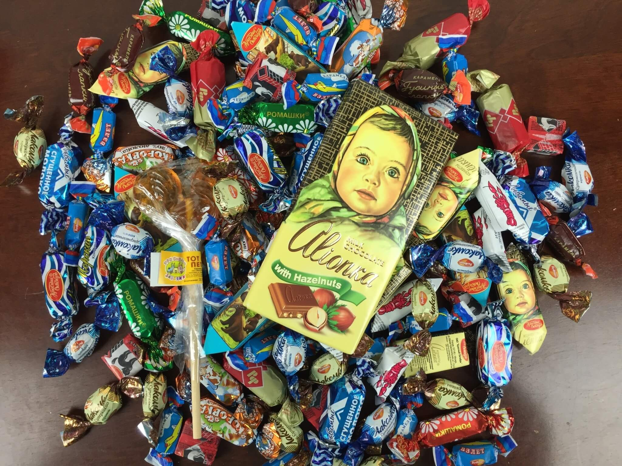 Russian Candy Box April 2016 review (1)