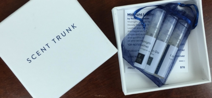 Scent Trunk for Men Subscription Box Review & Coupon – April 2016