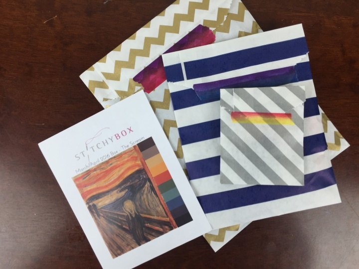 Stitchy Box March-April 2016 review