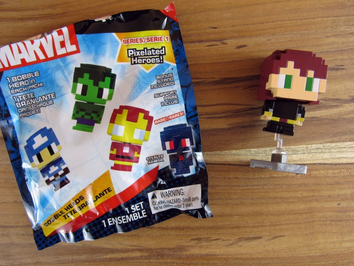 Marvel Mystery 8-Bit Avenger Mini Bobblehead Blind Bag