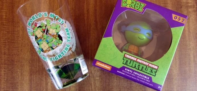 TMNT Box Subscription Box Review – April 2016