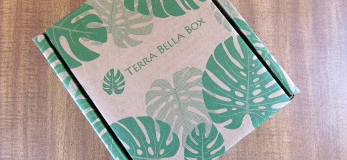 Terra Bella Box Lite April 2016 Subscription Box Review & Coupon + May Spoiler