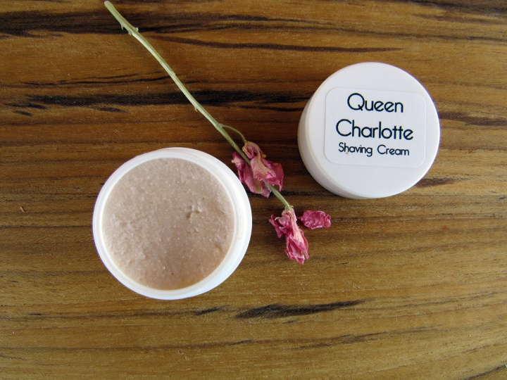 Queen Charlotte Shaving Cream