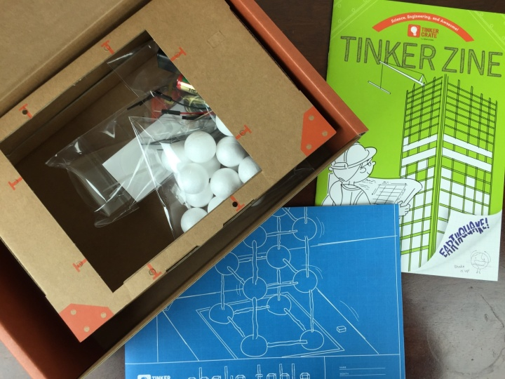 Tinker Crate April 2016 unboxing