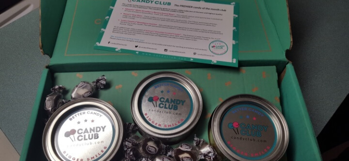 May 2016 Candy Club Subscription Box Review