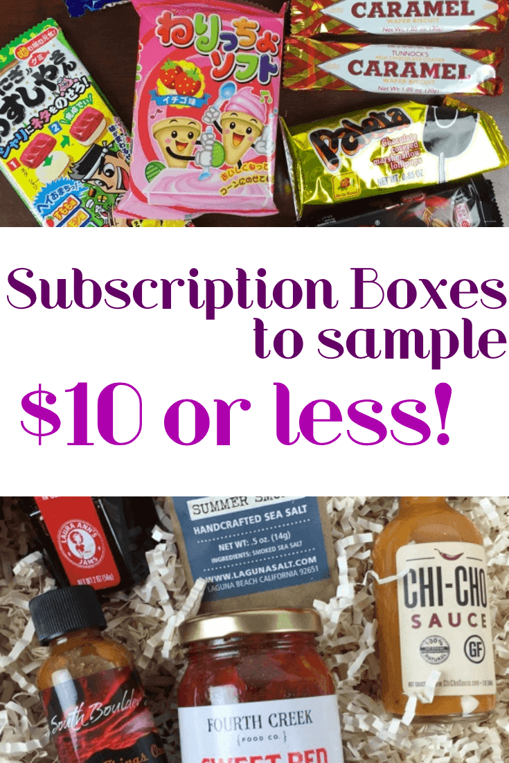 cheap subscription boxes to try