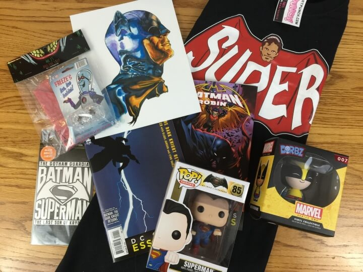 Comic Block Subscription Box Review & Coupon – March 2016