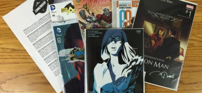 ComicBoxer March 2016 Subscription Box Review & Coupon