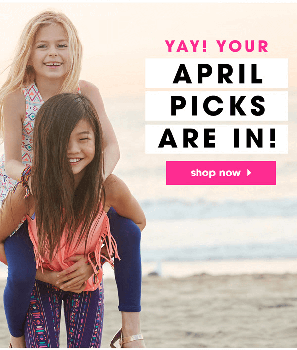 FabKids April 2016 Collection + First Outfit Deal for $9.95!
