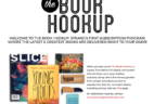 The Book HookUp: 3 New Subscriptions from The Strand Bookstore!