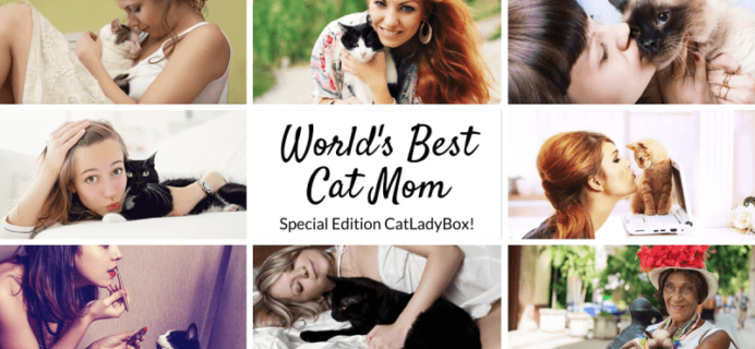 Last Day & Spoiler: Cat Lady Box Cat Mom's Day May Box +15% Off Coupon