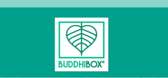 BuddhiBox November 2018 Spoiler #1 + Coupon!