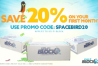 20% Off First Sci-Fi Block Coupon!