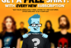 New Nerd Block Deal: Free Shirt With Every Subscription!