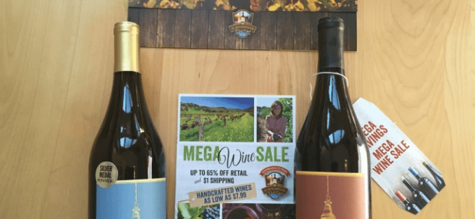 California Wine Club Deal: 2 bonus wines + $25 Credit!