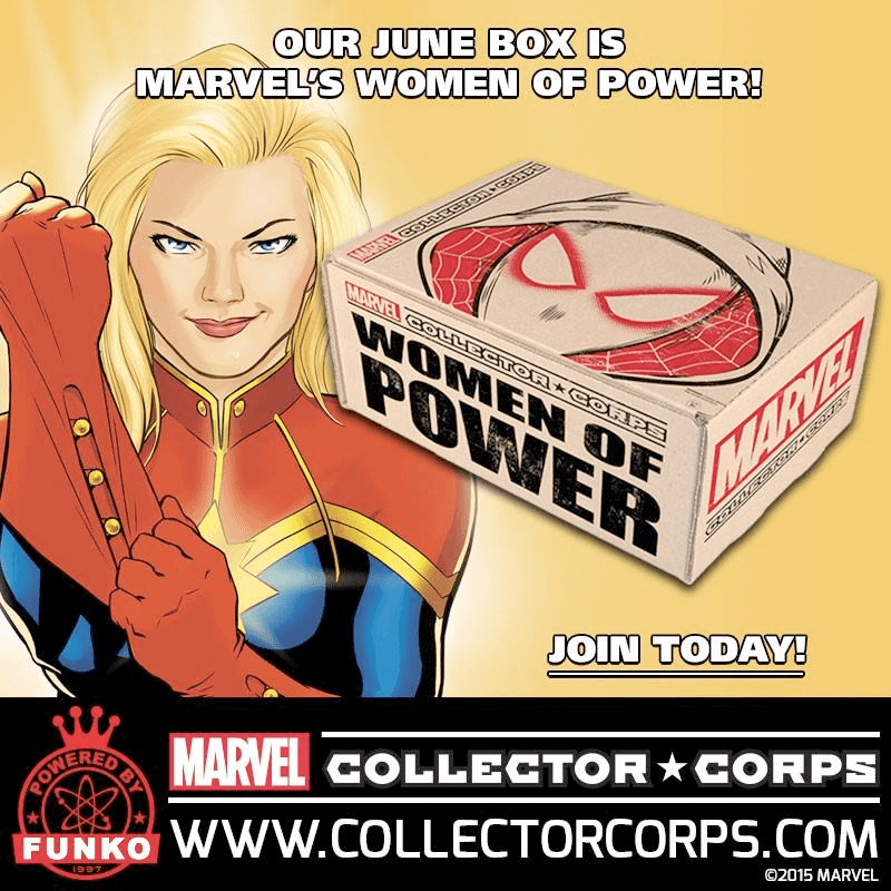 Marvel Collector Corps June 2016 FULL Spoilers