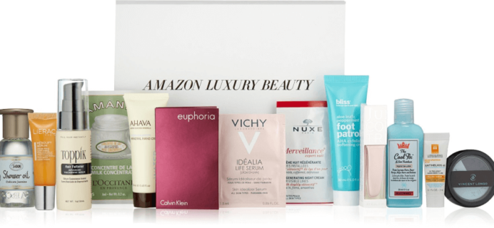 Amazon $19.99 Luxury Beauty Box: FREE After Purchase Credit!