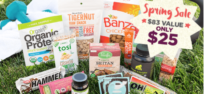 Vegan Cuts Spring Sale: Vegan Athlete Box