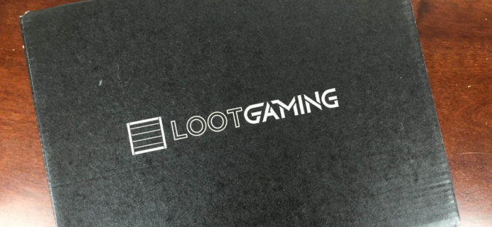Loot Gaming March 2016 Subscription Box Review & Coupon
