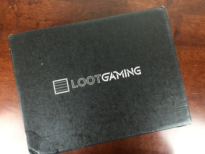 loot gaming march 2016 box