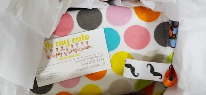 Oh My Cute Subscription Box Review – April 2016