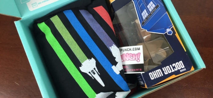 Sci-Fi Block April 2016 Subscription Box Review + Coupon